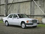 Mercedes-Benz 190 E UK-spec (W201) 1988–93 pictures