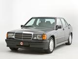 Mercedes-Benz 190 E 2.5-16 UK-spec (W201) 1988–93 pictures