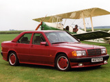AMG 190 E 2.3 UK-spec (W201) 1988–93 wallpapers