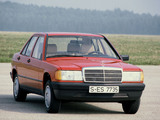 Mercedes-Benz 190 (W201) 1982–88 pictures