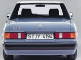 Photos of Mercedes-Benz 190 E (W201) 1988–93