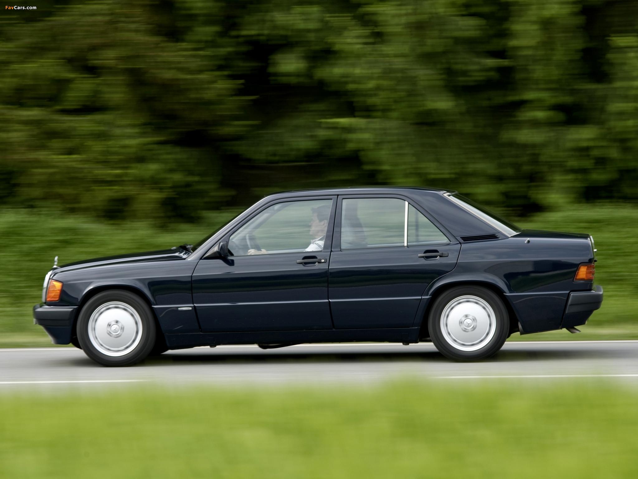 Mercedes-Benz 190 D BlueEfficiency (W201) 2009 wallpapers (2048 x 1536)