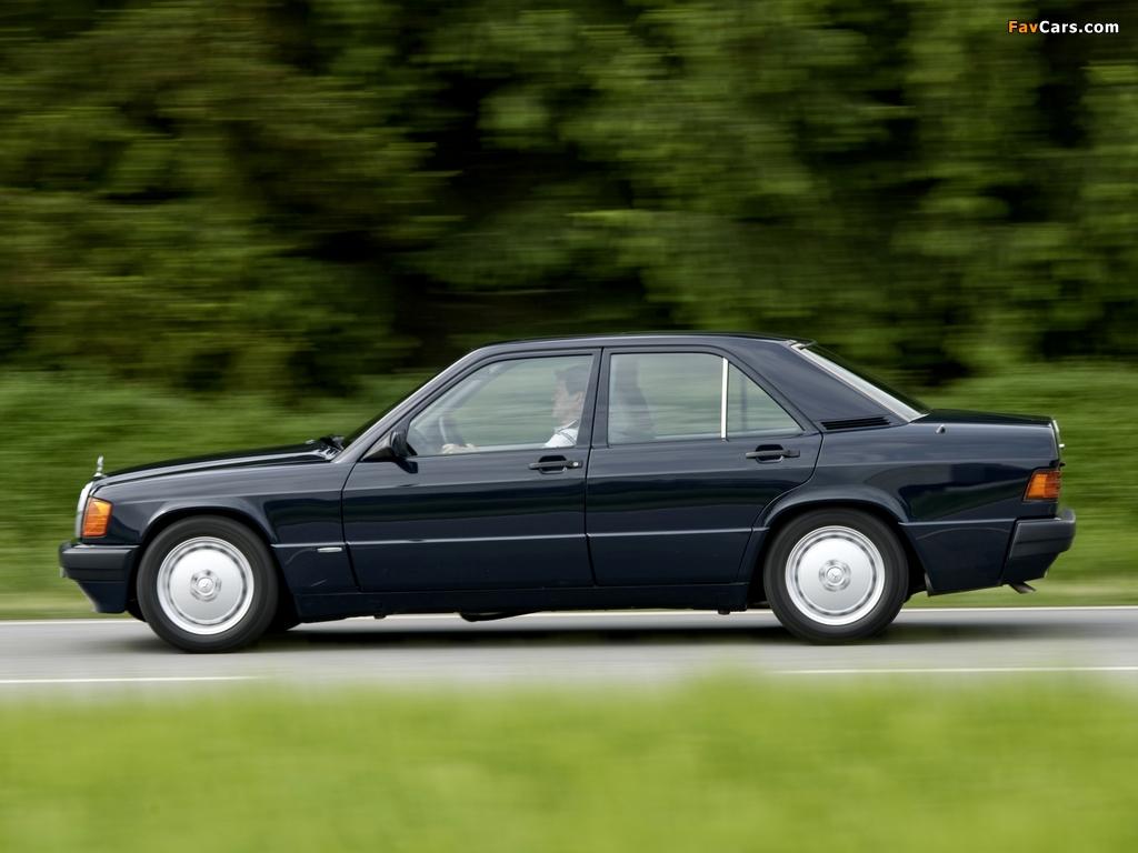 Mercedes-Benz 190 D BlueEfficiency (W201) 2009 wallpapers (1024 x 768)