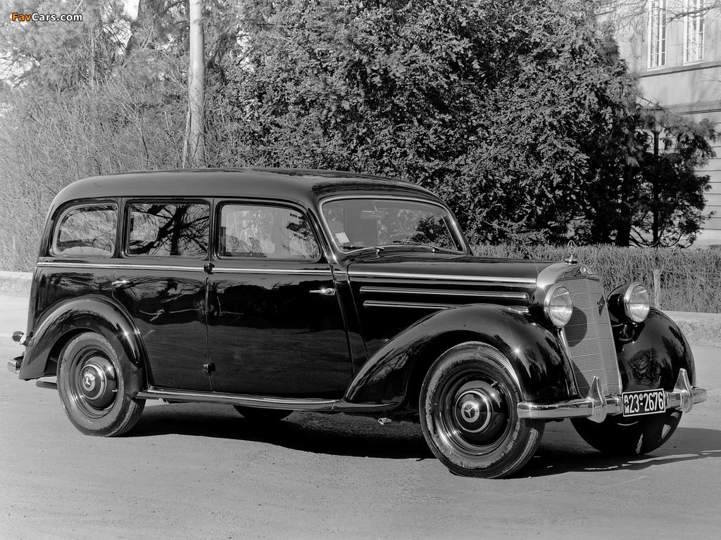 Mercedes-Benz 260D Pullman Limousine (W138) 1936–40 pictures (1024 x 768)