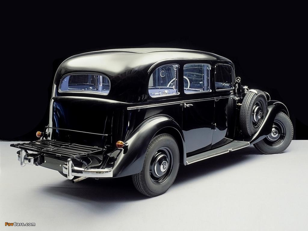 Photos of Mercedes-Benz 260D Pullman Limousine (W138) 1936–40 (1024 x 768)