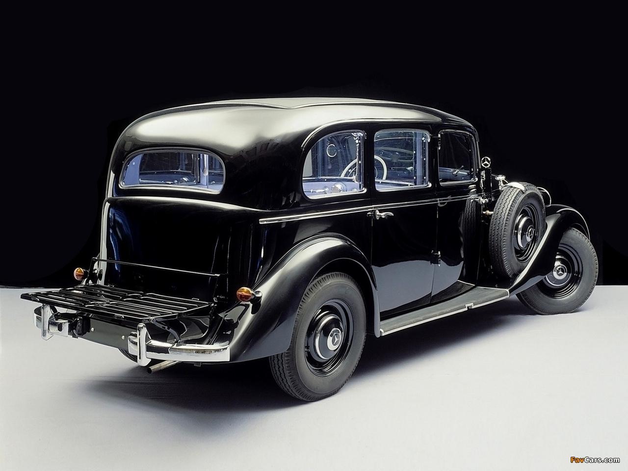 Photos of Mercedes-Benz 260D Pullman Limousine (W138) 1936–40 (1280 x 960)