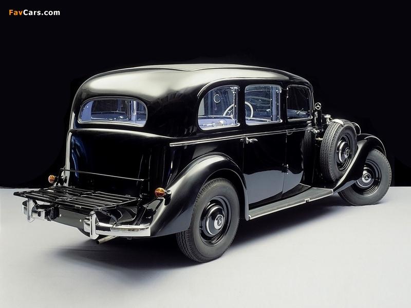 Photos of Mercedes-Benz 260D Pullman Limousine (W138) 1936–40 (800 x 600)
