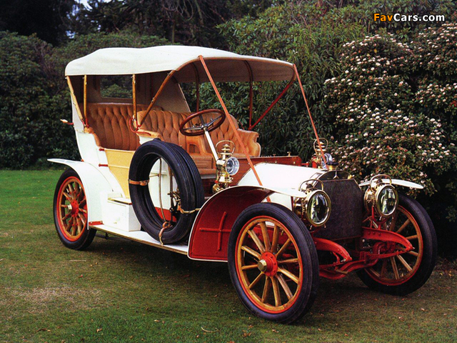 Pictures of Mercedes 28/32 Double Phaeton 1904 (640 x 480)