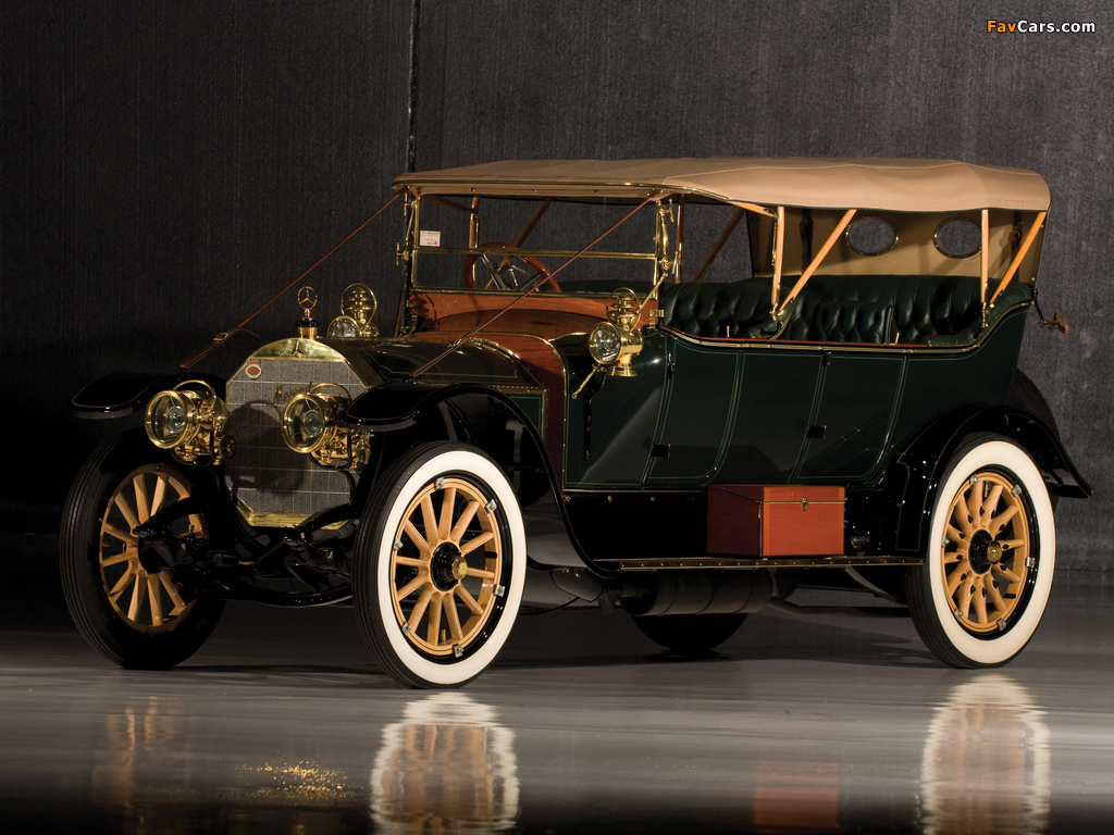 Pictures of Mercedes 38/70 HP Touring 1911 (1024 x 768)