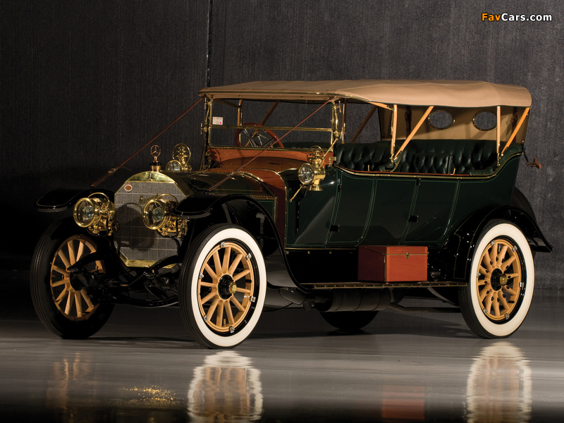 Pictures of Mercedes 38/70 HP Touring 1911 (800 x 600)