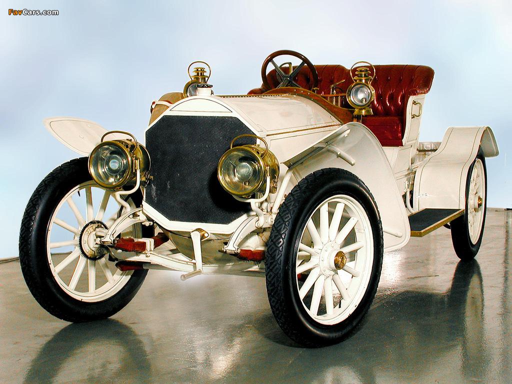 Mercedes 39/75 HP 1907 photos (1024 x 768)