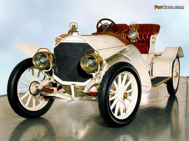Mercedes 39/75 HP 1907 photos (640 x 480)