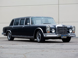 Mercedes-Benz 600 4-door Pullman Limousine (W100) 1964–81 pictures