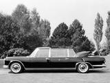 Mercedes-Benz 600 Pullman Landaulet Popemobile (W100) 1965 photos