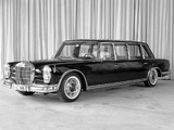 Photos of Mercedes-Benz 600 4-door Pullman Limousine (W100) 1964–81