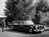 Pictures of Mercedes-Benz 600 4-door Pullman Limousine (W100) 1964–81