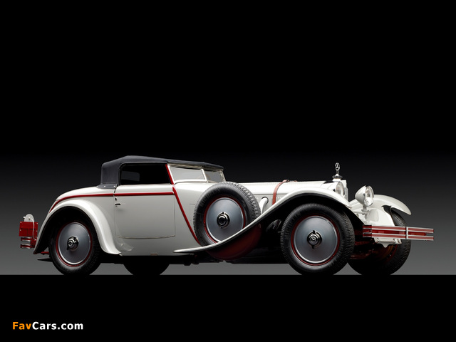 Mercedes-Benz 680S Roadster by Saoutchik 1928 wallpapers (640 x 480)