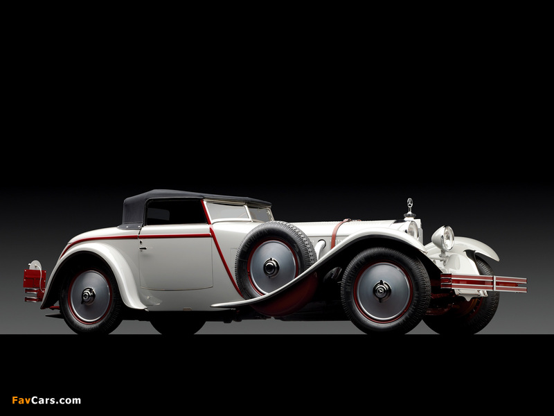 Mercedes-Benz 680S Roadster by Saoutchik 1928 wallpapers (800 x 600)