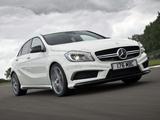 Images of Mercedes-Benz A 45 AMG UK-spec (W176) 2013