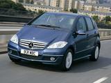 Mercedes-Benz A 180 CDI 5-door UK-spec (W169) 2008–12 pictures