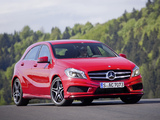 Mercedes-Benz A 180 Style Package (W176) 2012 images