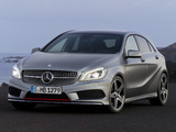 Mercedes-Benz A 250 AMG Sport Package (W176) 2012 images