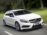 Mercedes-Benz A 45 AMG UK-spec (W176) 2013 images