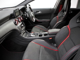Mercedes-Benz A 45 AMG UK-spec (W176) 2013 pictures
