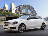Photos of Mercedes-Benz A 200 Style Package AU-spec (W176) 2012