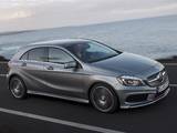 Photos of Mercedes-Benz A 250 AMG Sport Package (W176) 2012