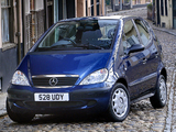 Pictures of Mercedes-Benz A 160 CDI UK-spec (W168) 2000–04