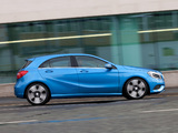 Mercedes-Benz A 200 CDI Urban Package UK-spec (W176) 2012 wallpapers