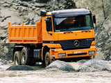 Images of Mercedes-Benz Actros 3340 (MP1) 1997–2002