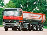 Mercedes-Benz Actros 2043 (MP1) 1997–2002 photos