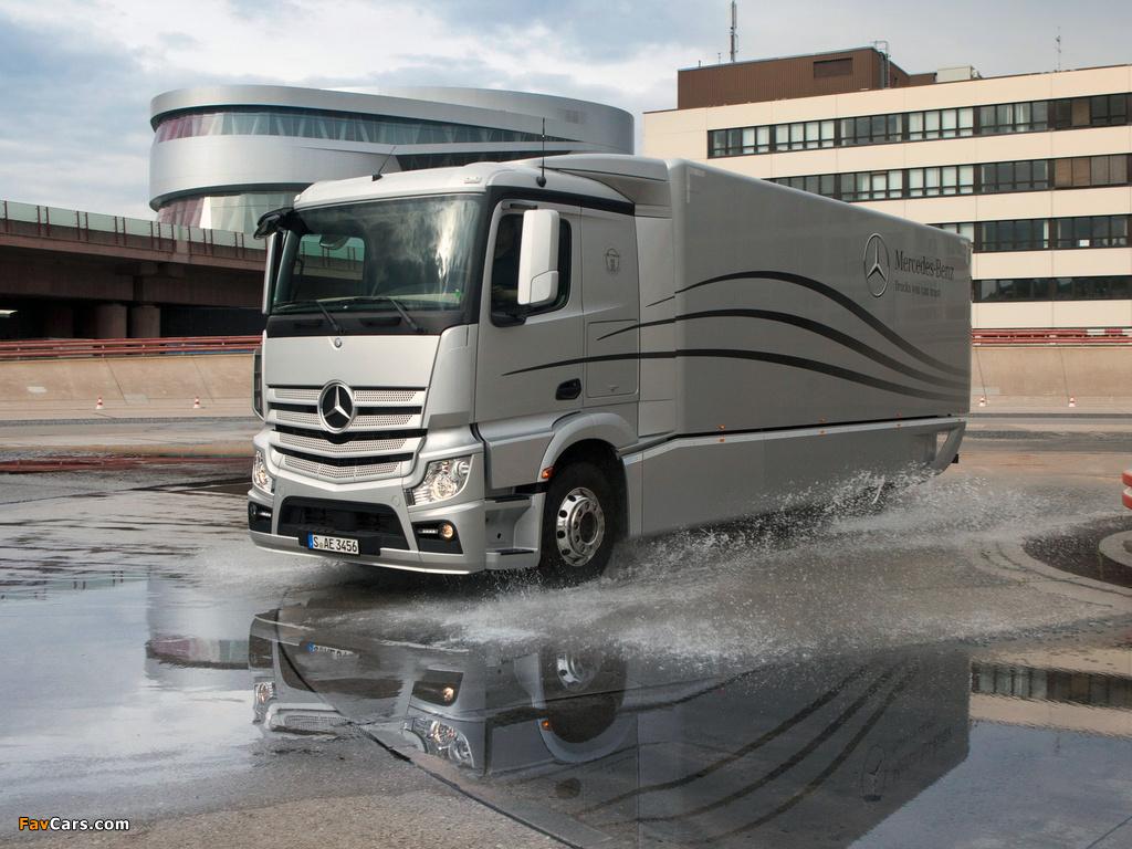 Mercedes-Benz Actros Aerodynamic Truck Concept 2012 images (1024 x 768)