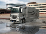 Mercedes-Benz Actros Aerodynamic Truck Concept 2012 images