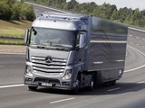 Mercedes-Benz Actros Aerodynamic Trailer Concept (MP4) 2012 wallpapers