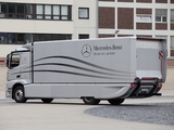 Mercedes-Benz Actros Aerodynamic Truck Concept 2012 wallpapers