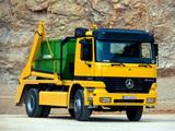 Photos of Mercedes-Benz Actros 1831 (MP1) 1997–2002