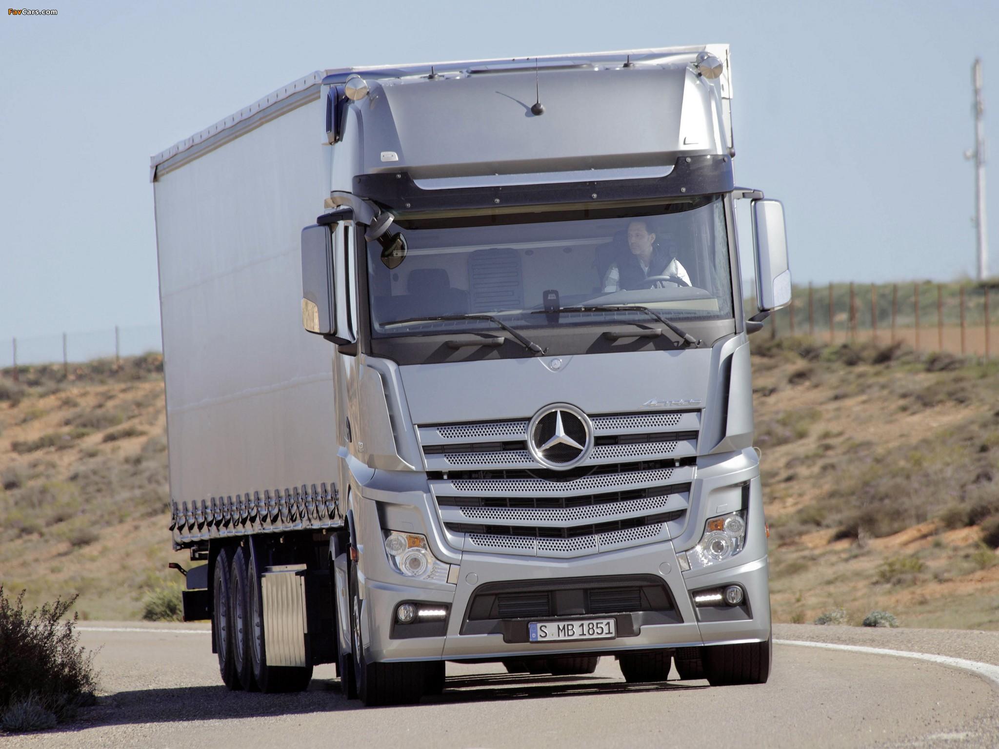 Truck Mercedes Benz >> Photos of Mercedes-Benz Actros 1851 (MP4) 2011 (2048x1536)