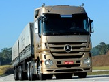 Photos of Mercedes-Benz Actros 2646 BR-spec (MP3) 2011