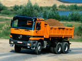 Pictures of Mercedes-Benz Actros 3340 (MP1) 1997–2002