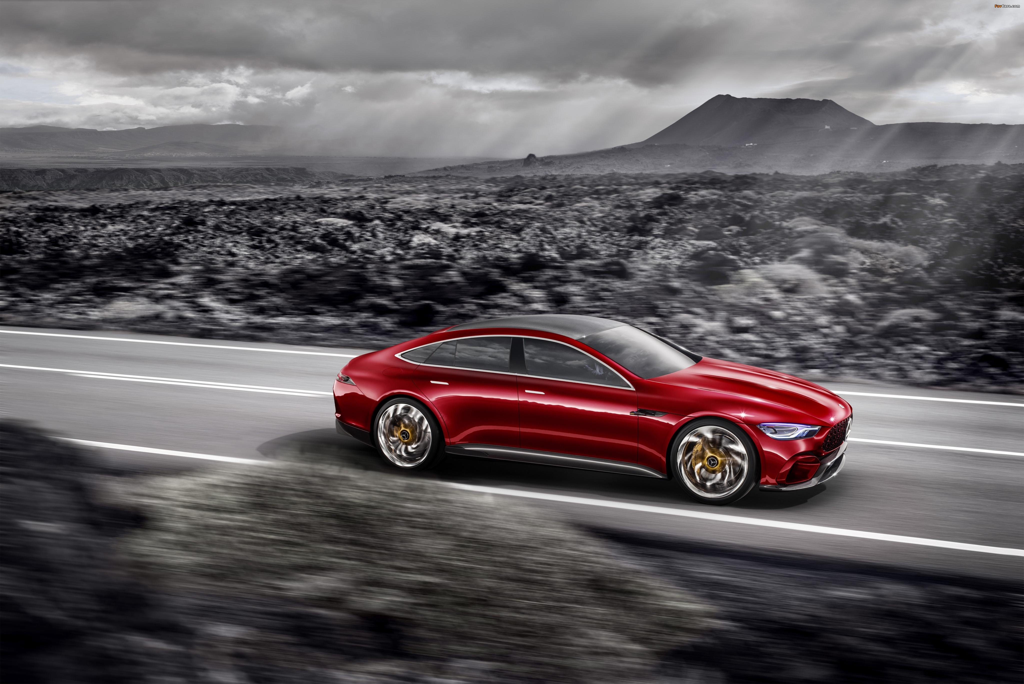 Mercedes concept загрузить