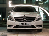 Images of Mercedes-Benz B 200 BlueEfficiency UK-spec (W246) 2012