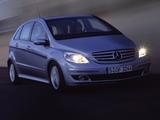 Mercedes-Benz B 200 CDI (W245) 2005–08 photos
