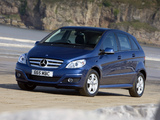 Mercedes-Benz B-Klasse UK-spec (W245) 2008–11 photos