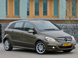 Mercedes-Benz B 180 CDI (W245) 2008–11 pictures