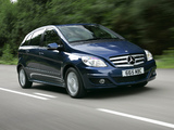 Mercedes-Benz B-Klasse UK-spec (W245) 2008–11 wallpapers
