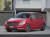 Mercedes-Benz B 200 BlueEfficiency AU-spec (W246) 2011 wallpapers