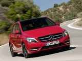 Mercedes-Benz B 200 BlueEfficiency (W246) 2011 wallpapers